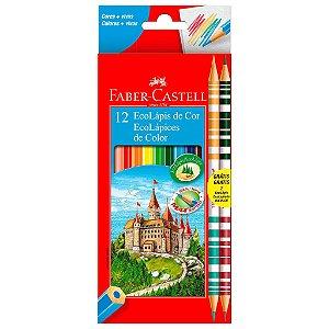 Lápis de Cor 10+2 Bicolor -  Faber-Castell