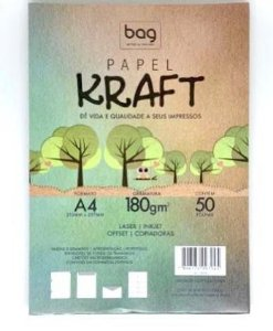 Papel Kraft A4 180g