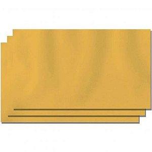 Papel Kraft Ouro 66x96cm - Unidade