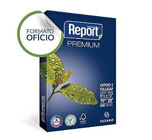 Papel Ofício 2 Report® Premium 75 g/m² Pacote 500 Folhas