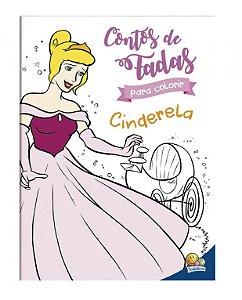Contos de fadas para colorir: Cinderela