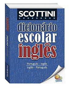 Scottini Dicionário Escolar de Inglês