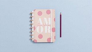 Caderno Inteligente Cor-de-Rosa