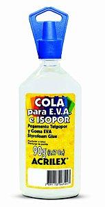 Cola para EVA e Isopor 90g Acrilex