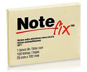 Bloco Adesivo Notefix™ Amarelo 76 mm x 102 mm - 100 folhas