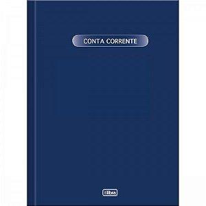 LIVRO CONTA CORRENTE CAPA DURA GRANDE 50FLS