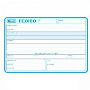 RECIBO COMERCIAL SEM CANHOTO GRANDE - 50 FOLHAS