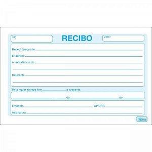 RECIBO COMERCIAL SEM CANHOTO PEQUENO - 50 FOLHAS