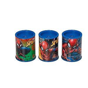 Apontador com Depósito Metálico Spider Man - Unidade