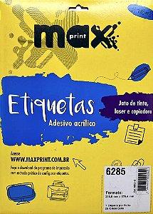 Etiqueta Maxprint Carta 6285 com 25 Folhas