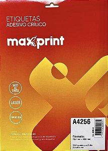 Etiqueta Maxprint A4256 com 25 Folhas