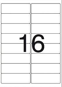 Etiqueta Maxprint A4262 com 25 Folhas