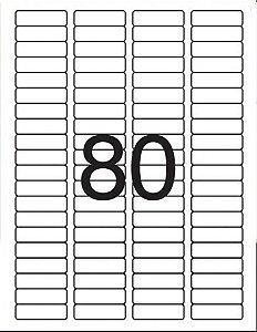 Etiqueta Maxprint Carta 6187 com 100 Folhas