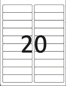 Etiqueta Maxprint Carta 6281 com 25 Folhas