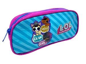 Estojo Lol Pets AZUL/ROSA LUXCEL