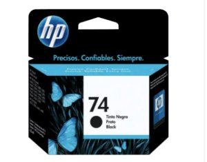 CARTUCHO HP 74 PRETO ORIGINAL