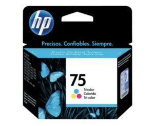 CARTUCHO HP 75 COLOR ORIGINAL