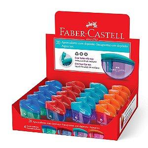 Apontador com Depósito Aquarius Unidade - Faber-Castell
