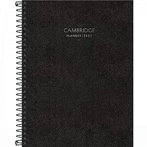 PLANNER ESPIRAL 17,7 X 24 CM CAMBRIDGE 90 G 2022