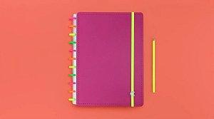 Caderno Inteligente Neon Vibes