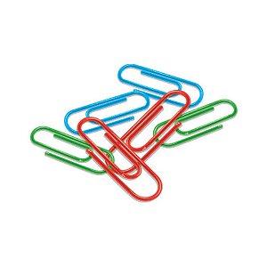 Clips Plástico Colorido C/100 CIS