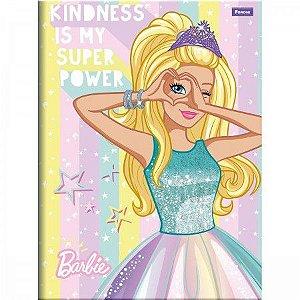 Caderno Brochurão Barbie Dreamtopia Capa Dura 96 Folhas