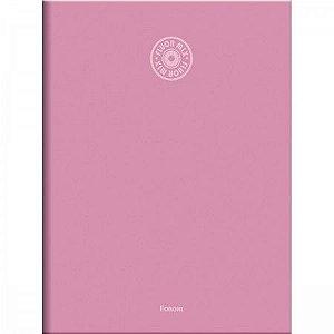 Caderno Brochurão Fluor Mix Soft Capa Dura 96 Folhas