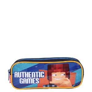 Estojo 2 Compartimentos Authentic Games 21X