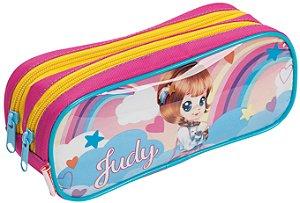 Estojo 2 Compartimentos Judy 20X Colorido