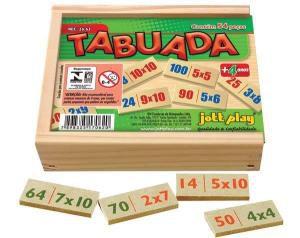Tabuada Completa (54 pecas) - Jott Play