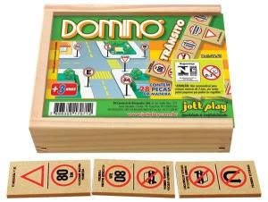 Domino Transito (28 pecas) - Jott Play