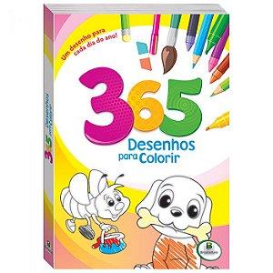 365 Desenhos para colorir (Verde) Um desenho para cada dia...