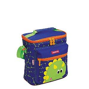 Lancheira Especial Sestini Kids Dino 2 Colorido