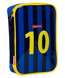 Estojo Especial Sestini 20Y Futebol Azul