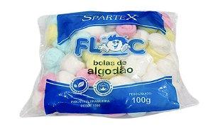 Algodão Bolas Coloridas 100g