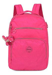 Mochila Notebook Dino Crinkle Pink
