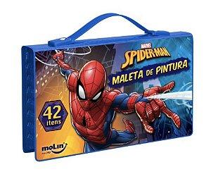 MALETA DE PINTURA (42 itens) Spider-Man