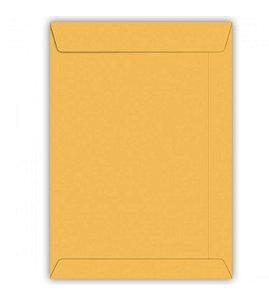 Envelope Saco Kraft Ouro 80g 162x229mm