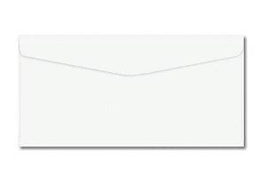 Envelope Saco branco 75g 114x229mm