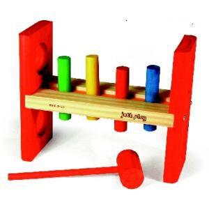 Bate Pinos (4 pinos - 1 martelo) - Jott Play