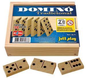 Domino Tradicional (28 pecas) - Jott Play