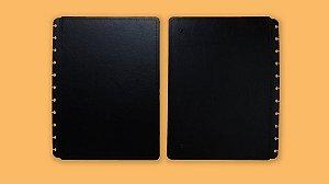 Capa Caderno Basic Black