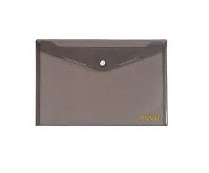 Pasta Envelope A5 Fecho Botão Fumê Keep - EI047