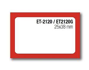 Etiqueta Auto-adesiva 25X38mm Rolo com 20 Metros Ref. 2120G