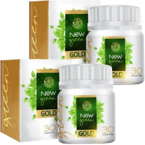 New Green Gold - kit 2 unidades