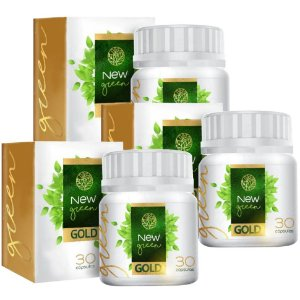 New Green Gold - kit 3 unidades