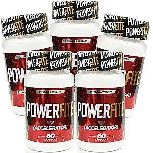 Power Fite 60 cáps - kit 5 unidades