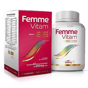 Femme Vitam 60 cáps - Vitamínico Feminino