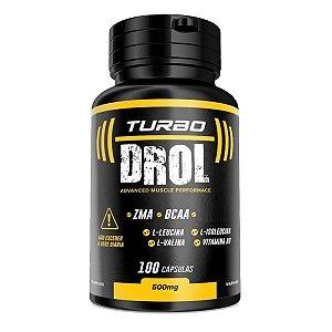 Turbo Drol 100 cáps - ganho de massa muscular