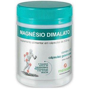 Magnésio Dimalato 500mg 120 Cáps - Meissen